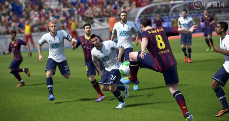 FIFA 14 Ultimate Team Squads in video series