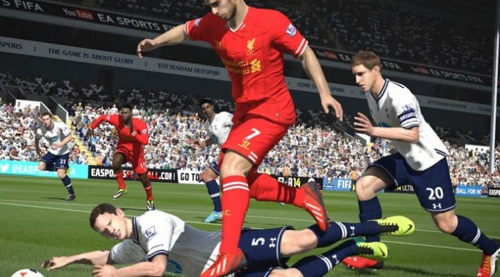 FIFA 14 dominance halted by action-adventure game