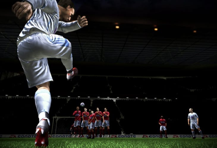 FIFA 14 free kick and penalty takers