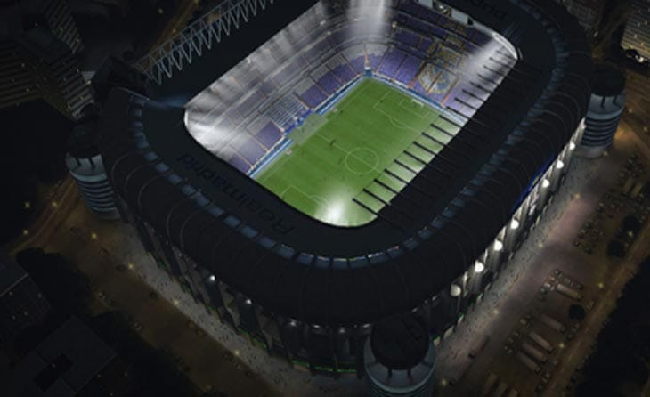FIFA 14 list of stadiums with capacity