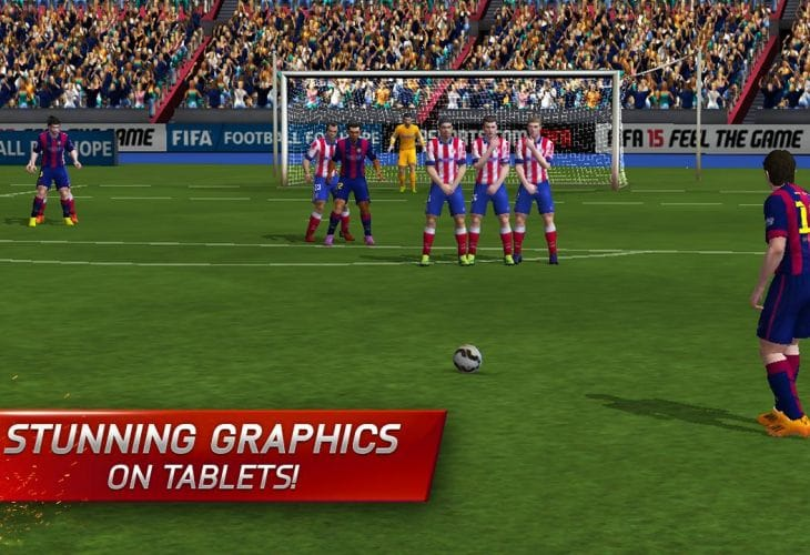 FIFA 15 Android app live with tablet graphics