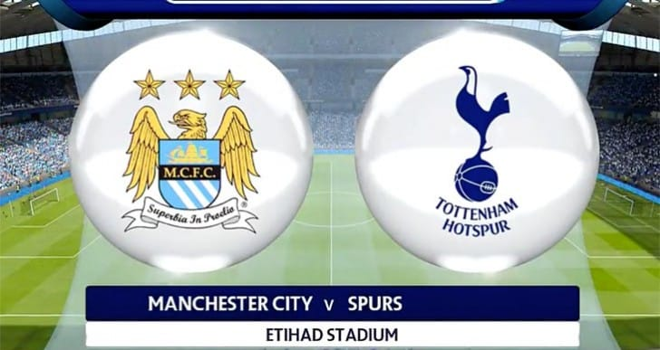 Manchester City Vs Tottenham prediction for today by SIM
