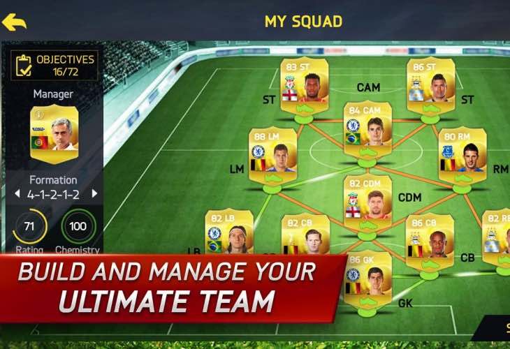 FIFA 15 UT app update