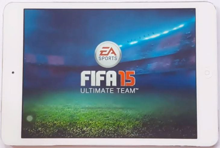 FIFA 15 Ultimate Team  on iPad mini
