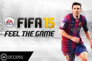 FIFA 15 web app is live with problems