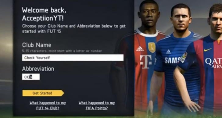 FIFA 15 web app live pack opening with Neymar