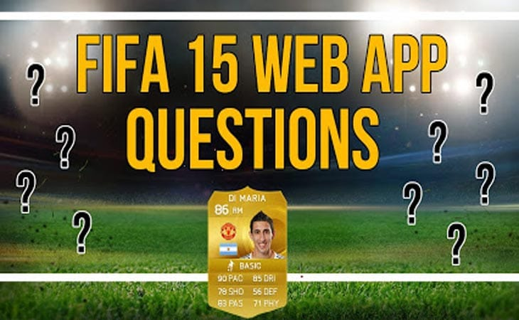 FIFA 15 web app release time update