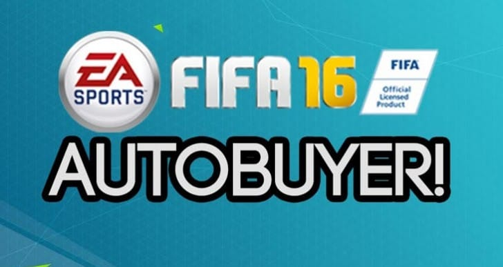 FIFA 16 autobuyer FUT trading in web app and bots