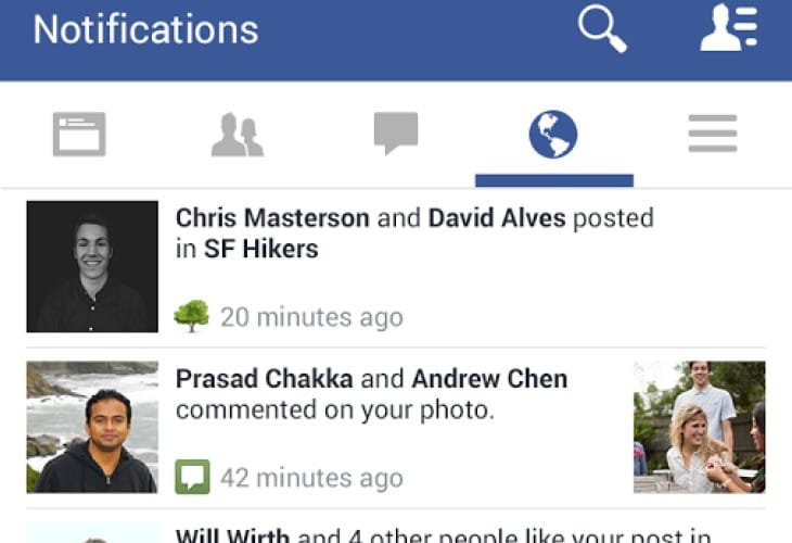 Facebook Android app changes hit a nerve