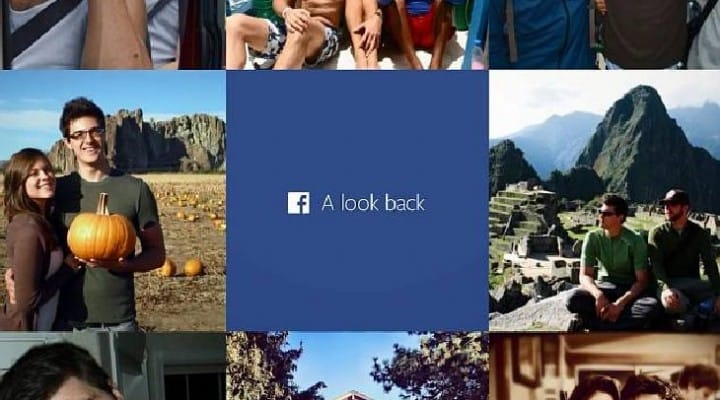 Facebook update to allow look back video editing