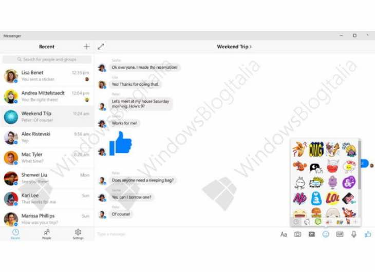 Facebook Messenger app for Windows 10 release imminent