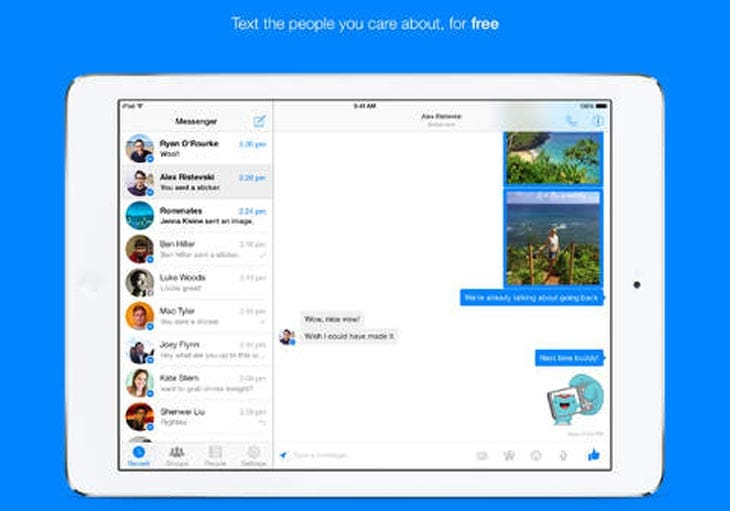 Facebook-Messenger-iPad-app