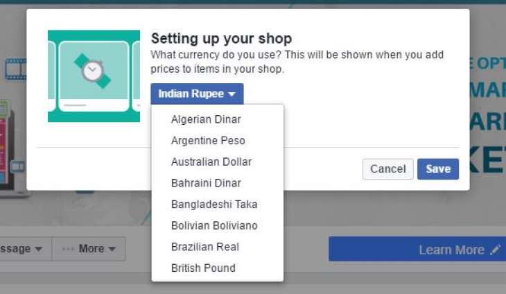 facebook-shop-issues-solved-with-change-currency