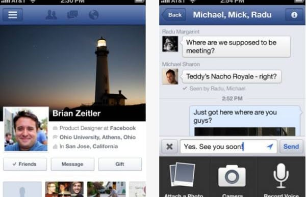 Facebook update iPhone app with new video features