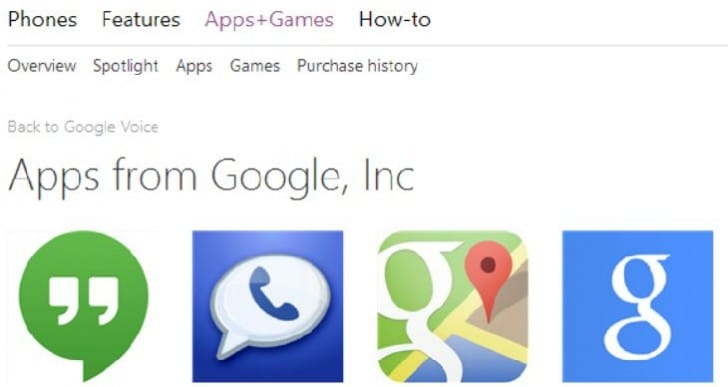 Fake Google apps plague Windows Phone Store