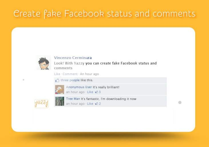 Fake WhatsApp, Facebook Messenger app