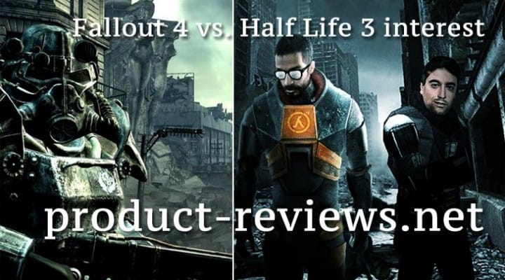 Fallout 4 vs. Half Life 3 interest in being confirmed