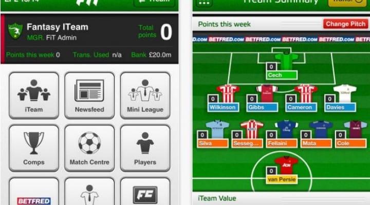 Fantasy Football World Cup 2014 app