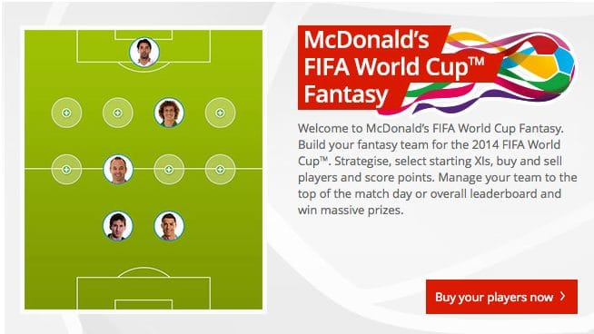 Fantasy Football World Cup 2014
