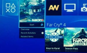 Far Cry 4 1.02 update live with notes on PS4