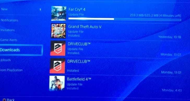 Far Cry 4 1.03 update live at 635.2MB, PS4 notes