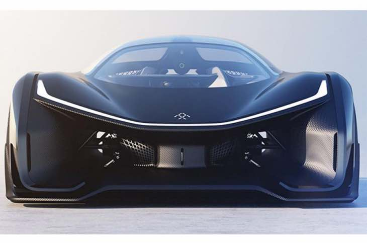 Faraday Future FFZERO1 performance figures