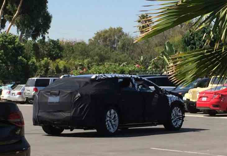 Faraday Future production car spotted