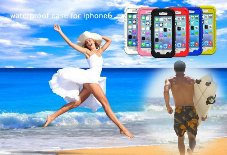 Fashion Waterproof iPhone Plus Case
