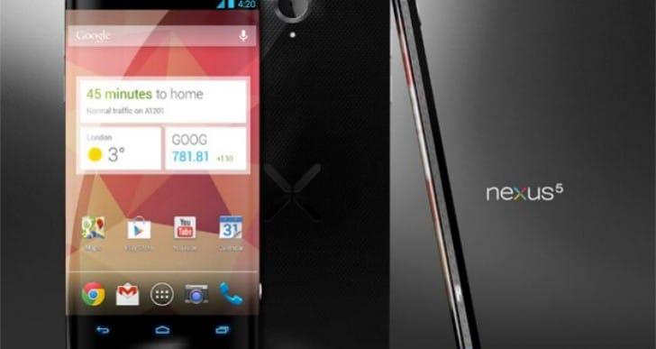Feasible Google Nexus 5 release window in latest news