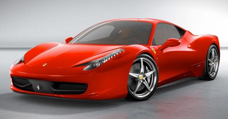 Ferrari 458 Italia vs. Chevy Spark EV
