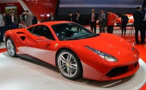 Ferrari 488 GTB price tag omitted from details