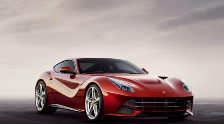 Ferrari F12 Berlinetta prize for Top Gear presenter