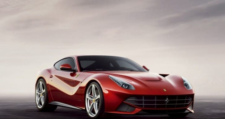 Ferrari F12 Berlinetta prize for Top Gear presenter