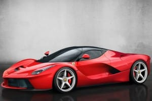 Ferrari LaFerrari $3.4 million price premium
