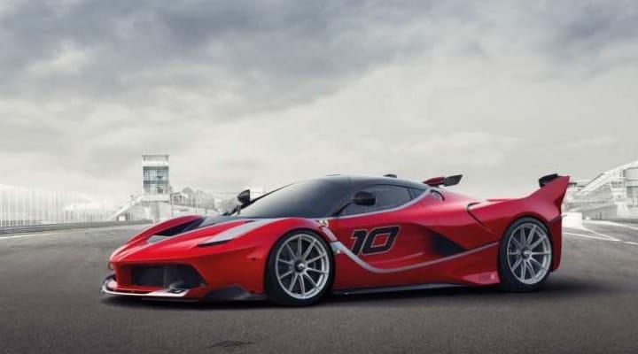 Ferrari LaFerrari FXX K performance figures MIA