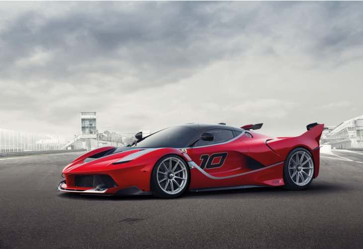 Ferrari LaFerrari FXX K performance figures MIA