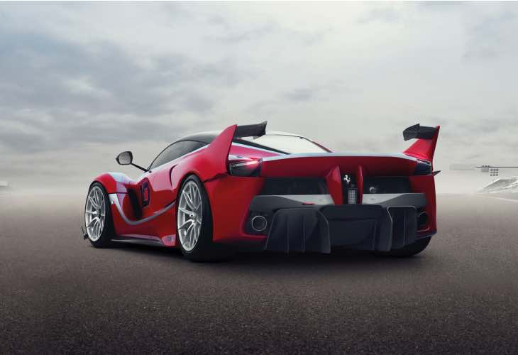 Ferrari LaFerrari FXX K performance