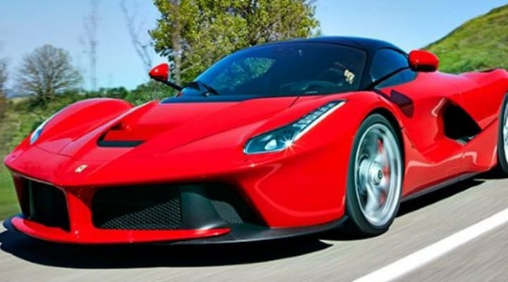 Ferrari LaFerrari Top Gear review, not the episode