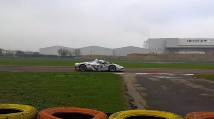 Ferrari LaFerrari testing F1 2014 engine