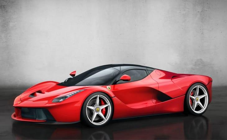 Ferrari LaFerrari testing