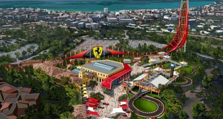 Ferrari Land coming to PortAventura resort in two years