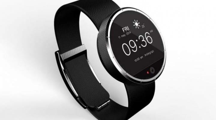 FiDELYS smartwatch like Moto 360, but includes iris recognition