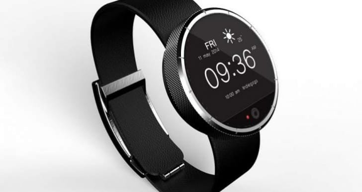 FiDELYS smartwatch like Moto 360, but includes iris recognition