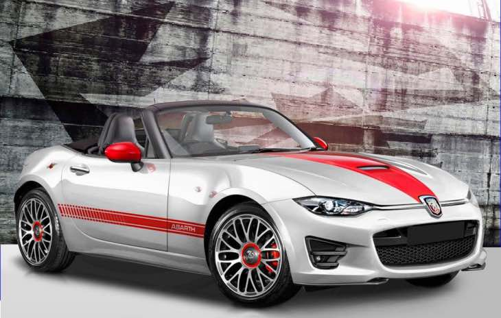 Fiat 124 Spider Abarth specs release in 2017