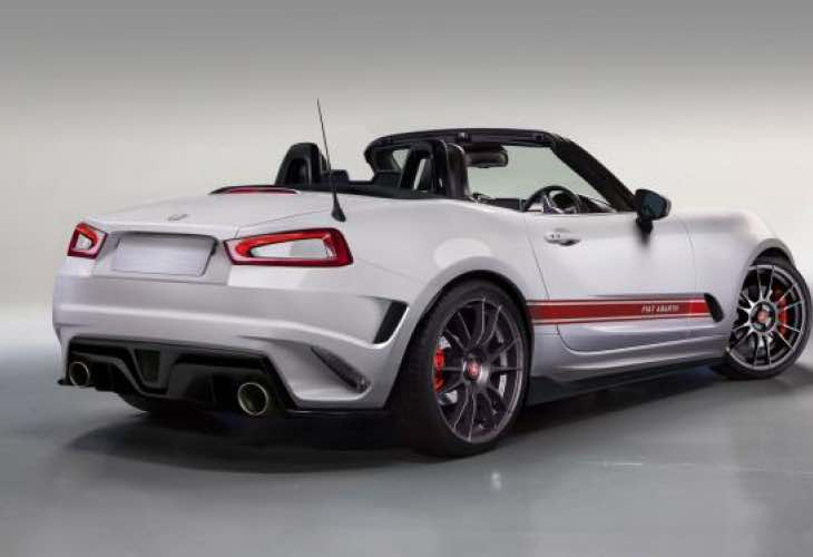 Fiat 124 Spider Abarth specs teased