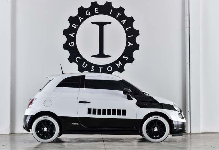 Fiat 500 Star Wars customization
