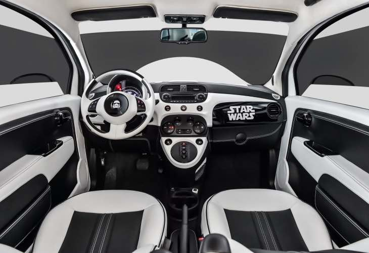 Fiat 500 Star Wars option