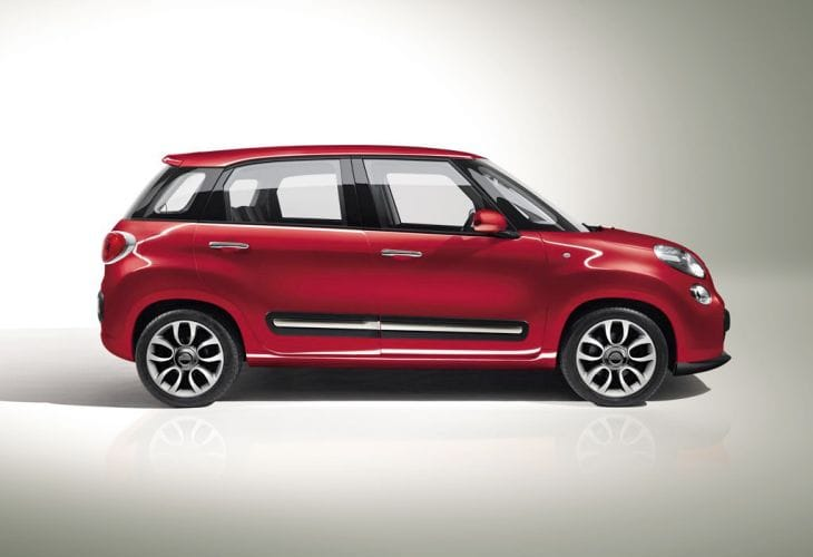Fiat 500L price and mpg figures for US market
