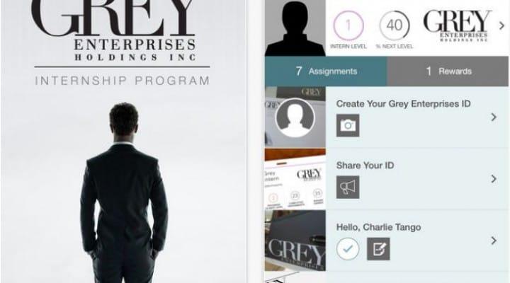 Fifty Shades of Grey app to reward trailer 2