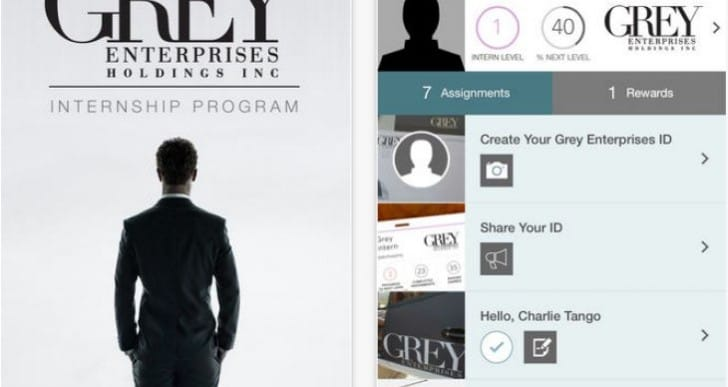 Fifty Shades of Grey app to reward trailer 2